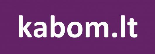 kabom.lt logo